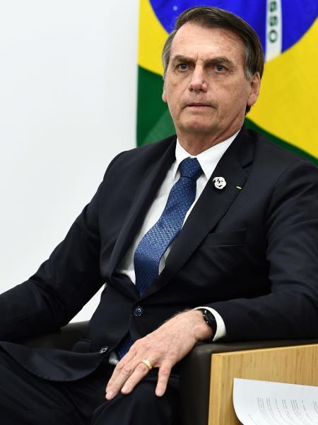 O presidente Jair Bolsonaro (sem partido) está participando de conversas para definir novo líder da Eletrobras - Brendan Smialowski / AFP