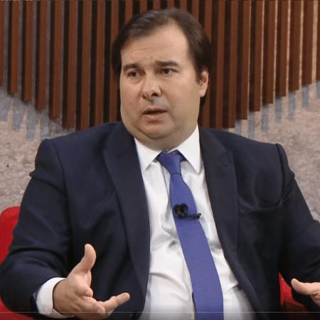 O presidente da Câmara, Rodrigo Maia - Reprodução