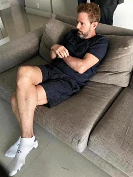 """Dario Messer, o """"doleiro dos doleiros"""" foi preso pela PF no apartamento em que se escondia, nos Jardins, em São Paulo.  - Reprodução"""