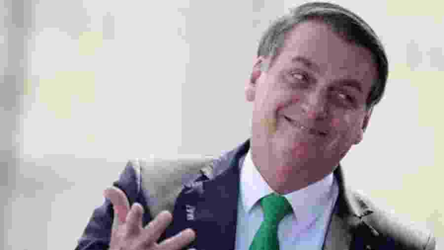 Presidente Bolsonaro foi elogiado por Renato Gaúcho em entrevista coletiva concedida hoje - REUTERS/UESLEI MARCELINO