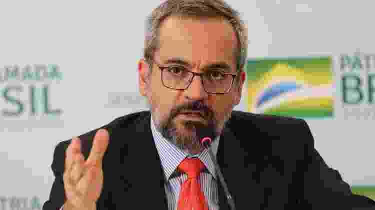Ex-ministro da Educação de Bolsonaro, Weintraub ameaçou retirar mural de Paulo Freire que fica em frente ao MEC - Fabio Rodrigues Pozzebom/Agência Brasil - Fabio Rodrigues Pozzebom/Agência Brasil