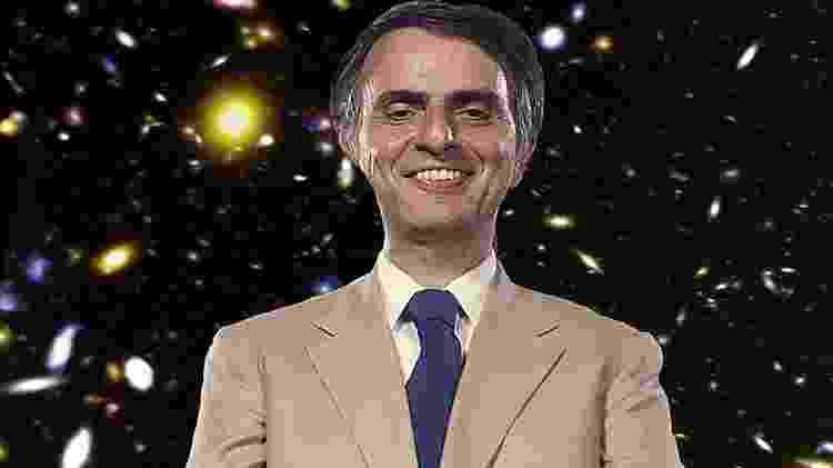 Tilt - Em 1980, astrônomo Carl Sagan ficou famoso mundialmente - Getty Images - Getty Images