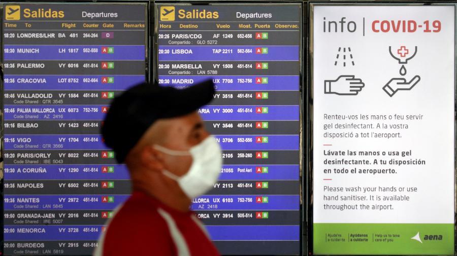 Coronavírus afetou principalmente o setor de turismo em todo o mundo - ALBERT GEA/REUTERS
