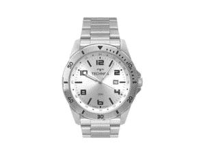 Relógio Technos, Pulseira de Aço, Masculino, Prata - Amazon - Amazon