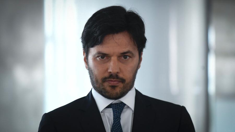 O ministro das comunicações, Fábio Faria, lidera a excursão - MATEUS BONOMI/AGIF/ESTADÃO CONTEÚDO