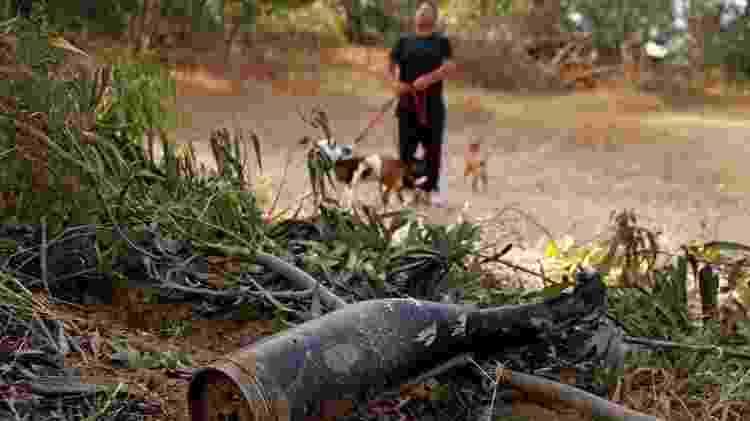 Nos últimos anos, o Domo de Ferro protegeu os centros urbanos israelenses de mísseis lançados pelo Hamas - JACK GUEZ / GETTY - JACK GUEZ / GETTY