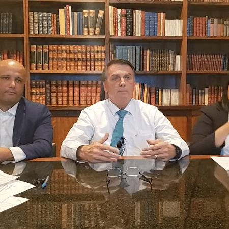 17 de jun. 2021 - Live Bolsonaro - Reprodução/Youtube Jair Bolsonaro
