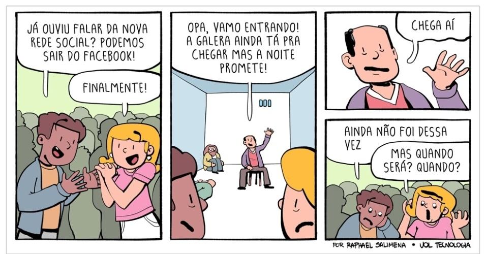 """7.nov.2015 - """"Nova rede social"""""""