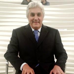 O senador cassado Delcídio do Amaral durante o programa 'Roda Viva'