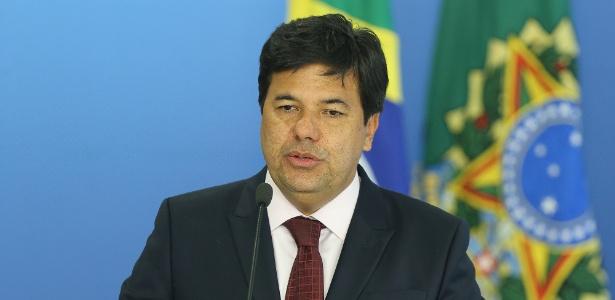 O ministro da Educação, Mendonça Filho (DEM-PE)