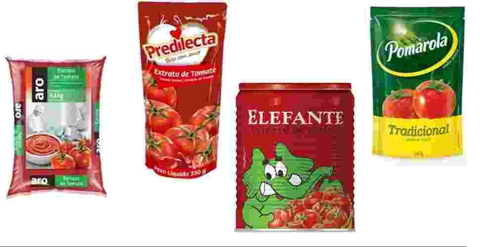 Molhos de tomate - usar esse - Reprodução