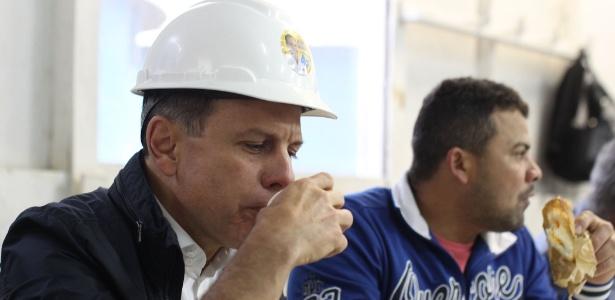 O candidato a prefeito de São Paulo João Doria Jr., do PSDB