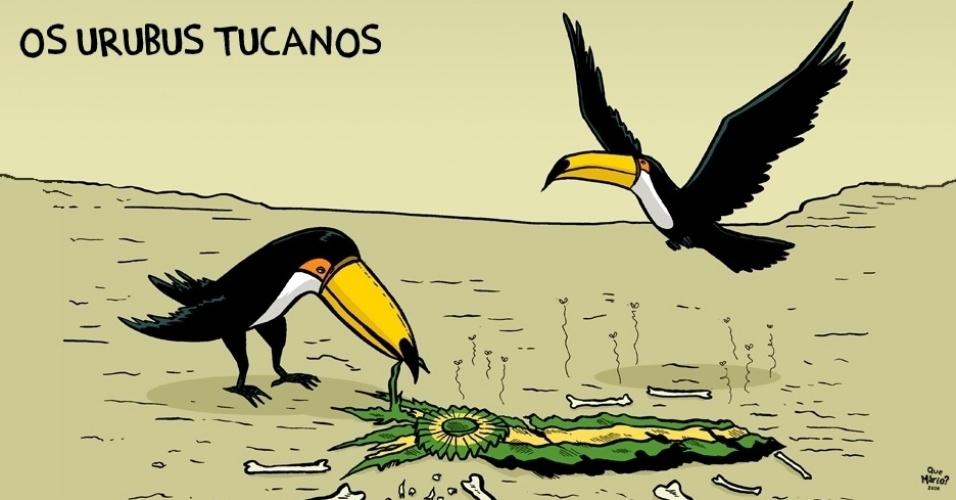 14.dez.2016 - Aquele momento em que os tucanos enfrentam uma crise de identidade