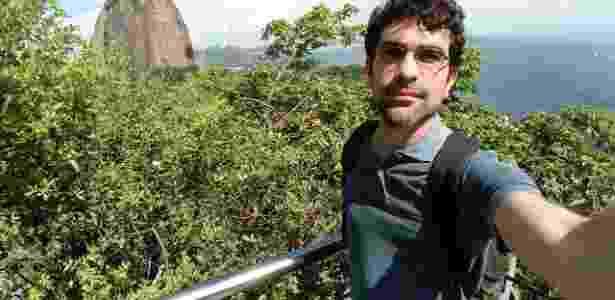 Foto tirada com câmera frontal do LG K10 Novo (modo grande angular) - Márcio Padrão/UOL - Márcio Padrão/UOL