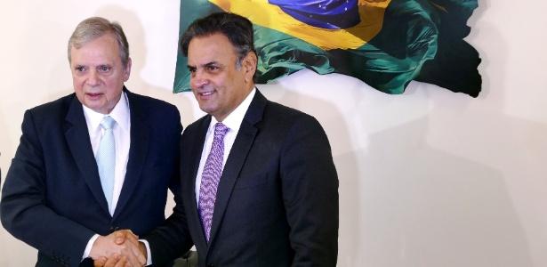PSDB, dos senadores Tasso Jereissati (CE) e Aécio Neves (MG), está rachado sobre apoiar ou não o governo Temer
