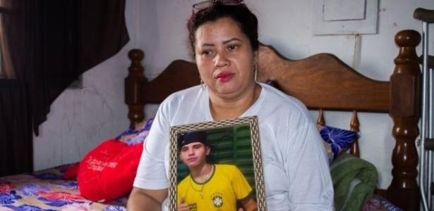 A estudante de direito Patrícia Gusmão usou as redes sociais para investigar o paradeiro do assassino de seu filho