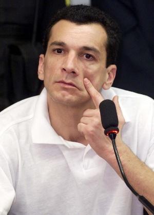 Marcos Willians Herbas Camacho, o Marcola, apontado como líder do PCC - Sergio Lima/Folhapress - 21.ago.2001