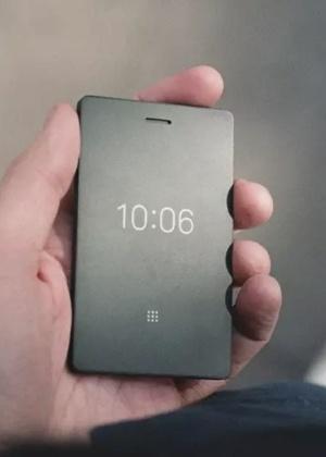 Light Phone 2 tem tela de E-Ink e funções limitadas.