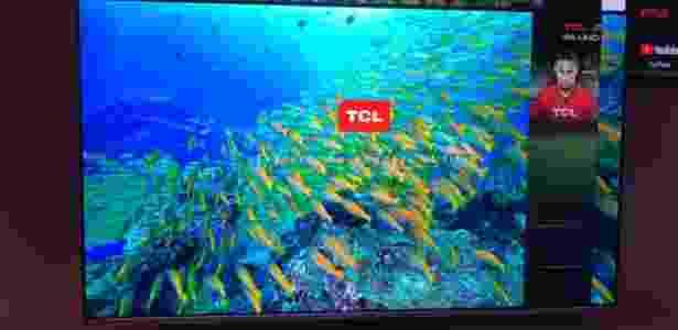 Televisor P6, da TCL - Gabriel Francisco Ribeiro/UOL