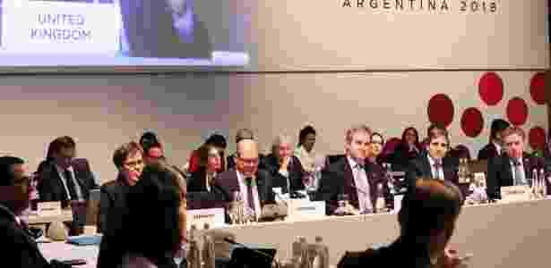 Reunião do G-20 terminou neste domingo (22), em Buenos Aires - G20/AFP
