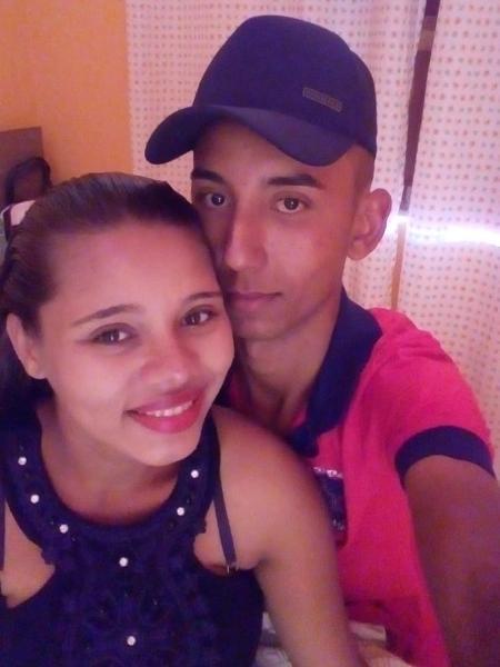 Mirene e seu marido, Gean Guimarães da Silva - Divulgação