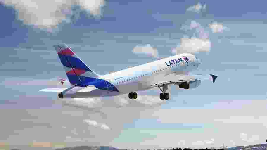 Em setembro, a taxa de ocupação das aeronaves da companhia no Brasil superou 80% pela primeira vez desde o início da pandemia - Latam/Divulgação