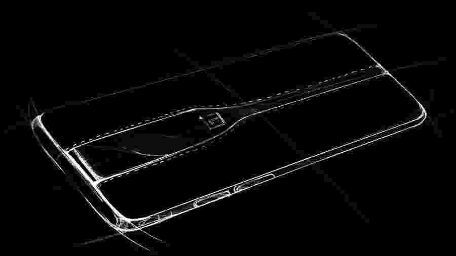 Protótipo do novo aparelho da OnePlus a ser mostrado na CES 2020 deve revelar lentes com vidro especial - Divuglação