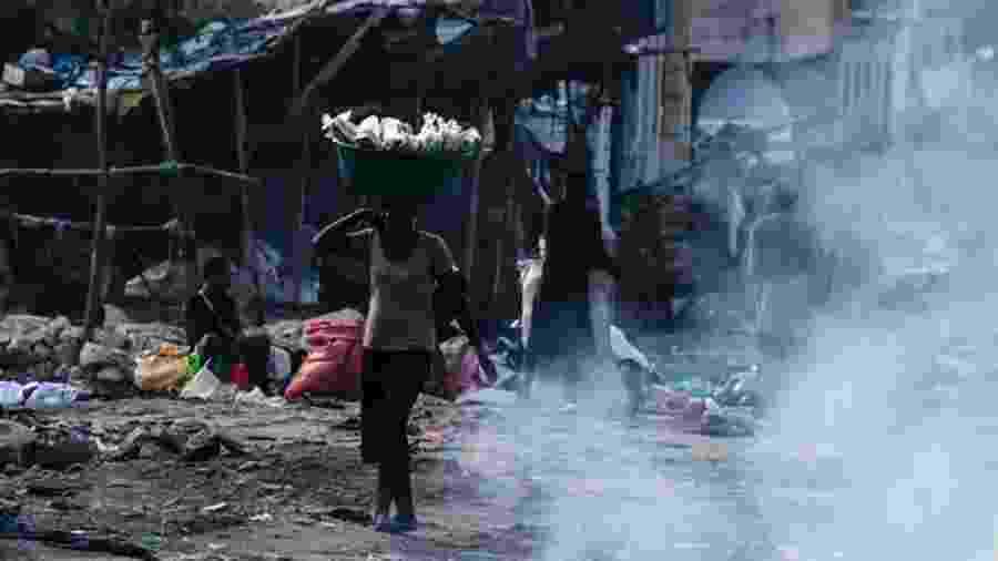 Haiti enfrenta novo - e imenso - desafio com covid-19 - AFP