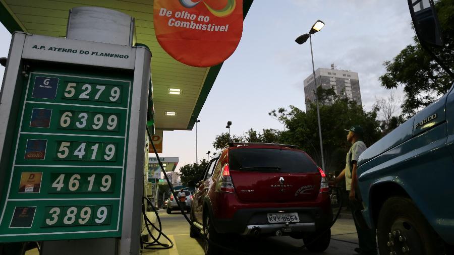 Posto de combustíveis no Rio de Janeiro (RJ) - SERGIO MORAES