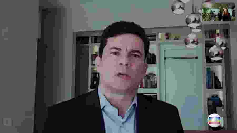 Sergio Moro, ex-ministro da Justiça, em entrevista à Rede Globo - Rede Globo/Reprodução
