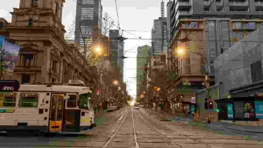 Os moradores de Melbourne passaram por um dos maiores confinamentos do mundo - Getty Images