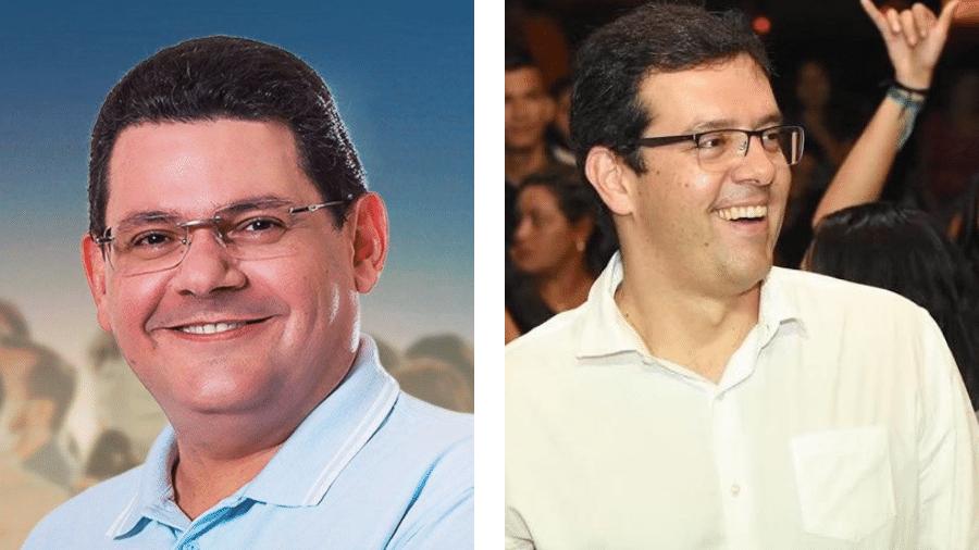 Josiel Alcolumbre (DEM) e Dr. Furlan (Cidadania) são candidatos a prefeito de Macapá - Reprodução/Facebook/Arte-UOL