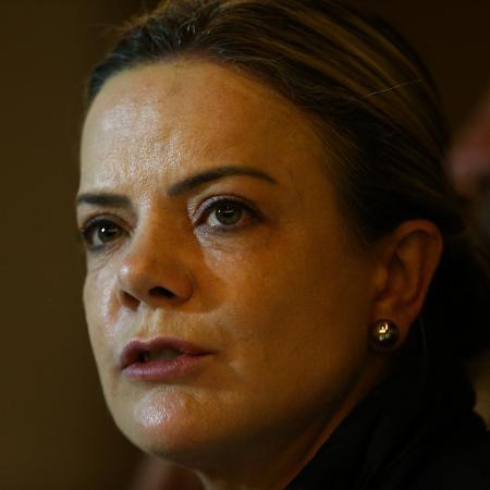 A deputada federal Gleisi Hoffmann, presidente do PT -  Pedro Ladeira - 22.out.2018/Folhapress
