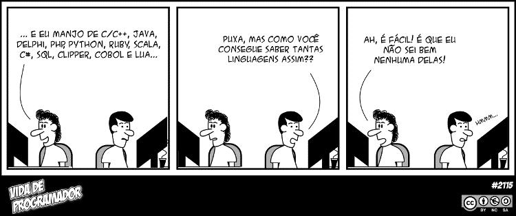 Tirinha #2115 - Vida de programador - Andre Noel/ Vida de Programador - Andre Noel/ Vida de Programador