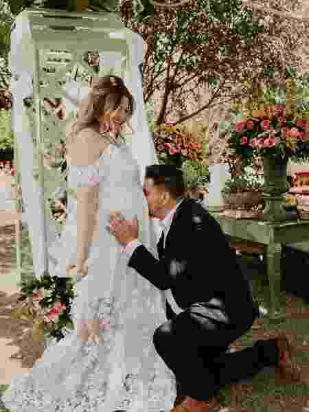Diego e Nathália casaram em outubro de 2020 - Arquivo Pessoal - Arquivo Pessoal