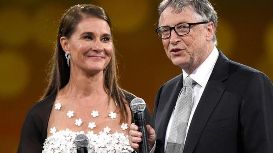 Melinda e Bill Gates deram boa parte de sua fortuna à sua Fundação que trabalha com caridade pelo mundo - Getty Images