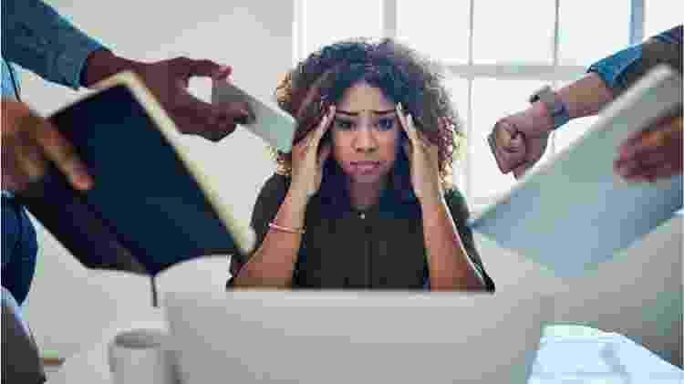 O esgotamento está por trás de muitos pedidos de demissão, explica Anthony Klotz - Getty Images - Getty Images