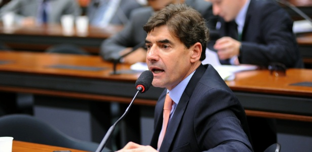 O então deputado Duarte Nogueira (PSDB-SP) na Câmara