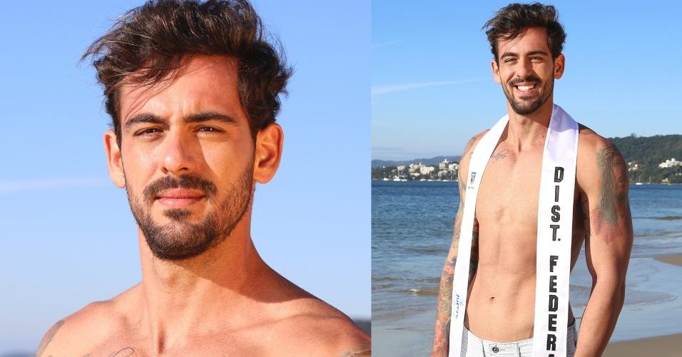 DISTRITO FEDERAL - Victor Ramon de Paiva Fonseca, 27, modelo e estudante