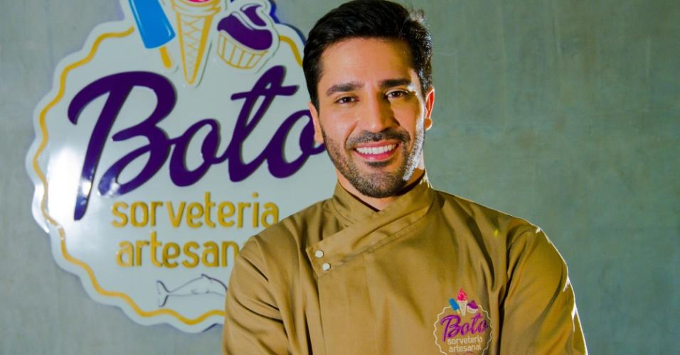 Tiago Silva, dono da Boto Sorveteria Artesanal, de Santarém (PA)