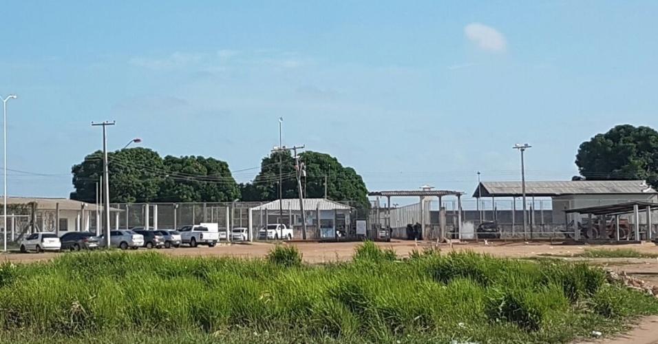 Fachada da PAMC (Penitenciária Agrícola de Monte Cristo), em Boa Vista (RR)