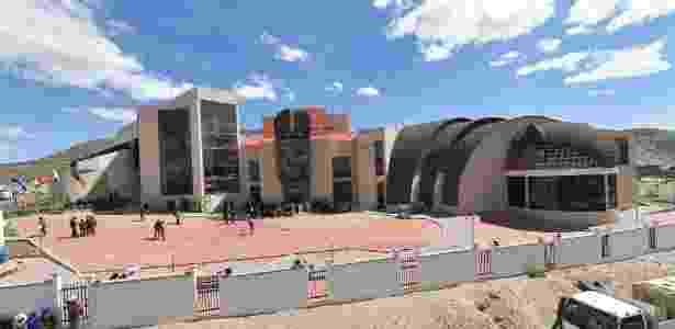 2.fev.2017 -O Museu da Revolução Democrática e Cultural, em Orinoca, cidade-natal do presidente da Bolívia, Evo Morales -  Freddy Zarco/ABI -  Freddy Zarco/ABI