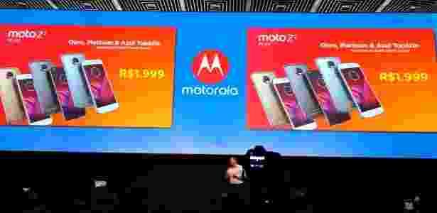 Novos lançamentos da Motorola e os preços - Márcio Padrão/UOL - Márcio Padrão/UOL