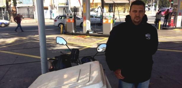 Marcelo Conrado Miranda, 38, é pesquisador de preços para uma rede de postos