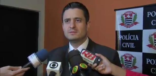 Delegado Douglas Borguez é acusado de beneficiar conhecidos em troca de favores - Reprodução