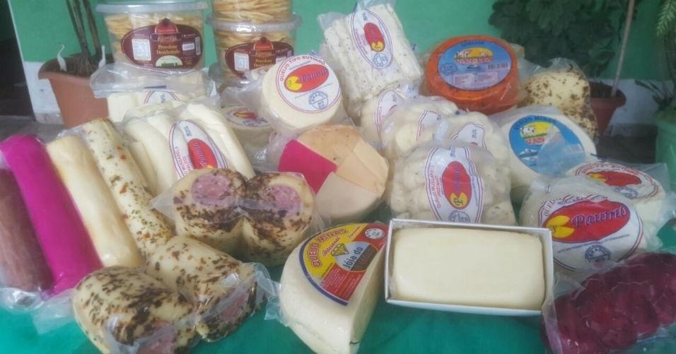 Feira Premium barraca de queijos