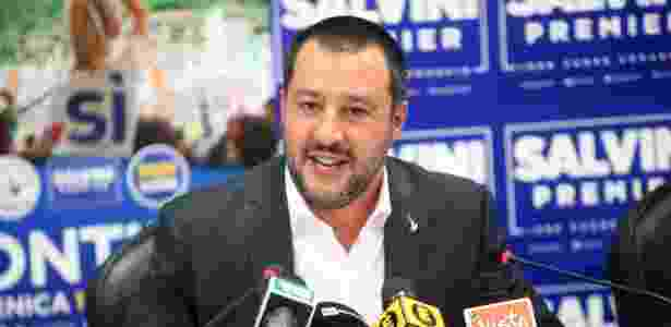 Matteo Salvini - Mattei Bazzi/EFE