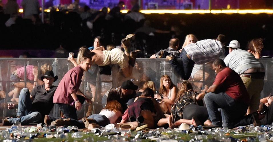 Tiroteio deixa mortos e feridos em festival de música de Las Vegas
