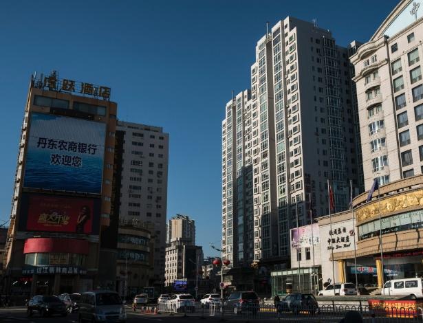 Empresas ligadas a Ma Xiaohong operam de um prédio em Dandong, na China