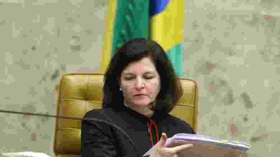 22.mar.2018 -  procuradora-geral da República, Raquel Dodge, durante sessão realizada no plenário da Supremo Tribunal Federal (STF), em Brasília - Dida Sampaio/Estadão Conteúdo
